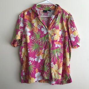 Pink Vintage Hawaiian Shirt
